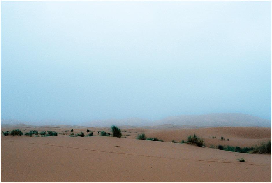 Sahara Desert and dawn