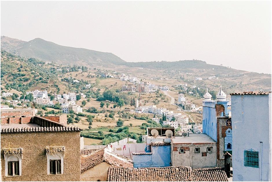 Landscape of Chefchaouen