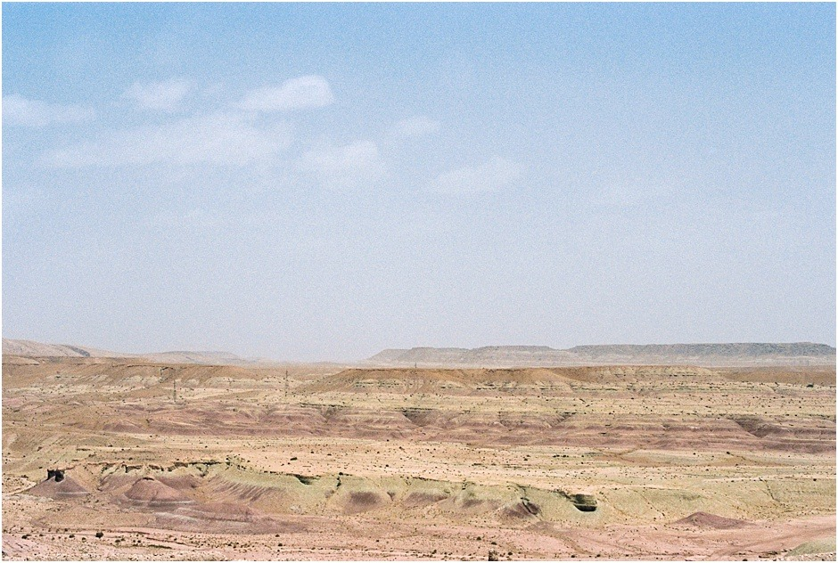 Barren land in Marrakesh