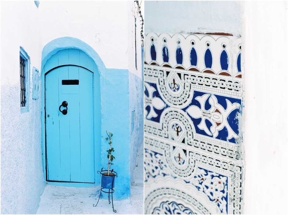 Doorways and details of Chefchaouen
