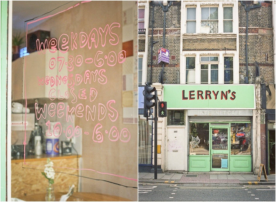 Peckam, London, Lerryns Cafe by Fiona Caroline Photography